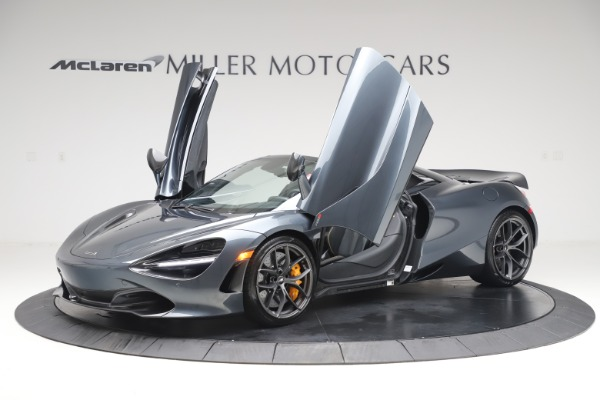New 2020 McLaren 720S Spider Performance for sale $384,930 at Bugatti of Greenwich in Greenwich CT 06830 13