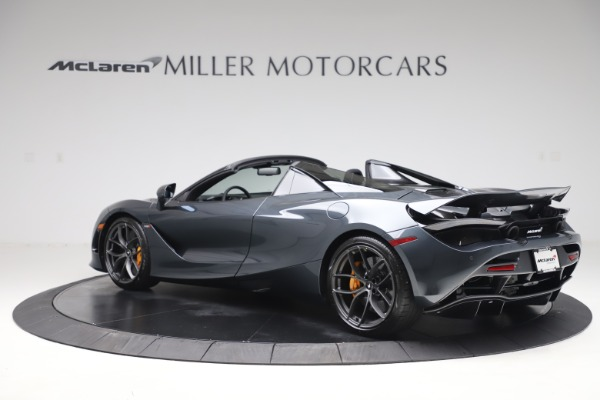 New 2020 McLaren 720S Spider Performance for sale $384,930 at Bugatti of Greenwich in Greenwich CT 06830 3