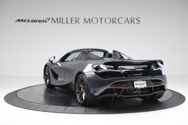 New 2020 McLaren 720S Spider Performance for sale $384,930 at Bugatti of Greenwich in Greenwich CT 06830 4