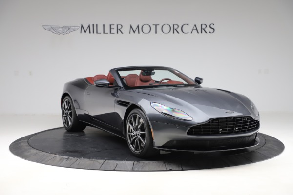 New 2020 Aston Martin DB11 Volante Convertible for sale $263,681 at Bugatti of Greenwich in Greenwich CT 06830 12