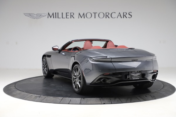 New 2020 Aston Martin DB11 Volante Convertible for sale $263,681 at Bugatti of Greenwich in Greenwich CT 06830 6