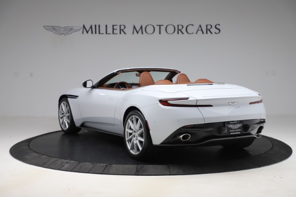 New 2020 Aston Martin DB11 Volante Convertible for sale $244,066 at Bugatti of Greenwich in Greenwich CT 06830 6