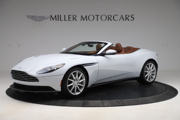 New 2020 Aston Martin DB11 Volante Convertible for sale $244,066 at Bugatti of Greenwich in Greenwich CT 06830 1