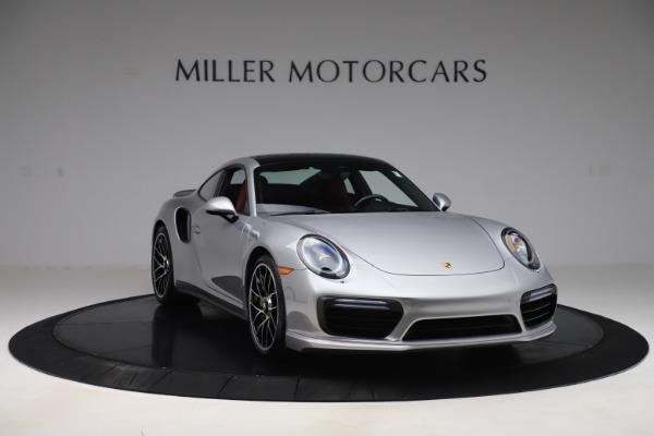 Used 2017 Porsche 911 Turbo S for sale $154,900 at Bugatti of Greenwich in Greenwich CT 06830 11