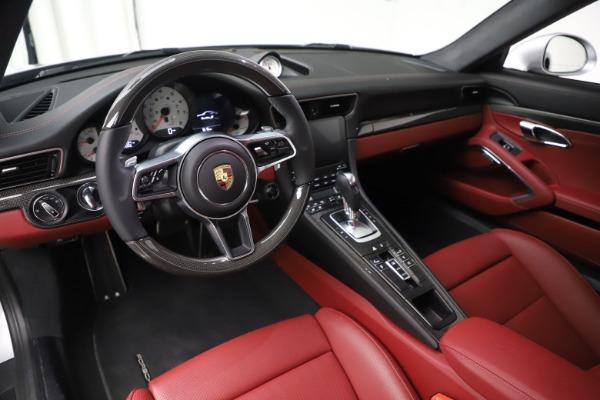 Used 2017 Porsche 911 Turbo S for sale $154,900 at Bugatti of Greenwich in Greenwich CT 06830 13