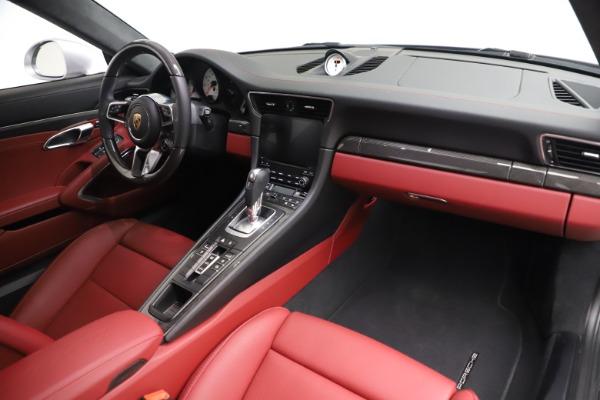 Used 2017 Porsche 911 Turbo S for sale $154,900 at Bugatti of Greenwich in Greenwich CT 06830 17