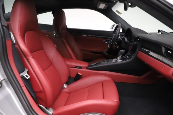 Used 2017 Porsche 911 Turbo S for sale $154,900 at Bugatti of Greenwich in Greenwich CT 06830 18