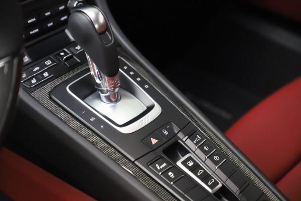 Used 2017 Porsche 911 Turbo S for sale $154,900 at Bugatti of Greenwich in Greenwich CT 06830 22