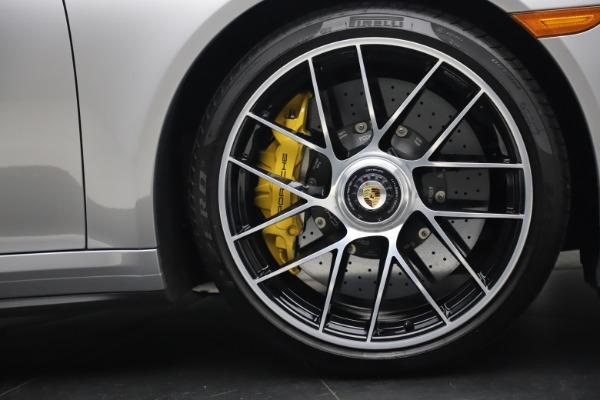 Used 2017 Porsche 911 Turbo S for sale $154,900 at Bugatti of Greenwich in Greenwich CT 06830 25