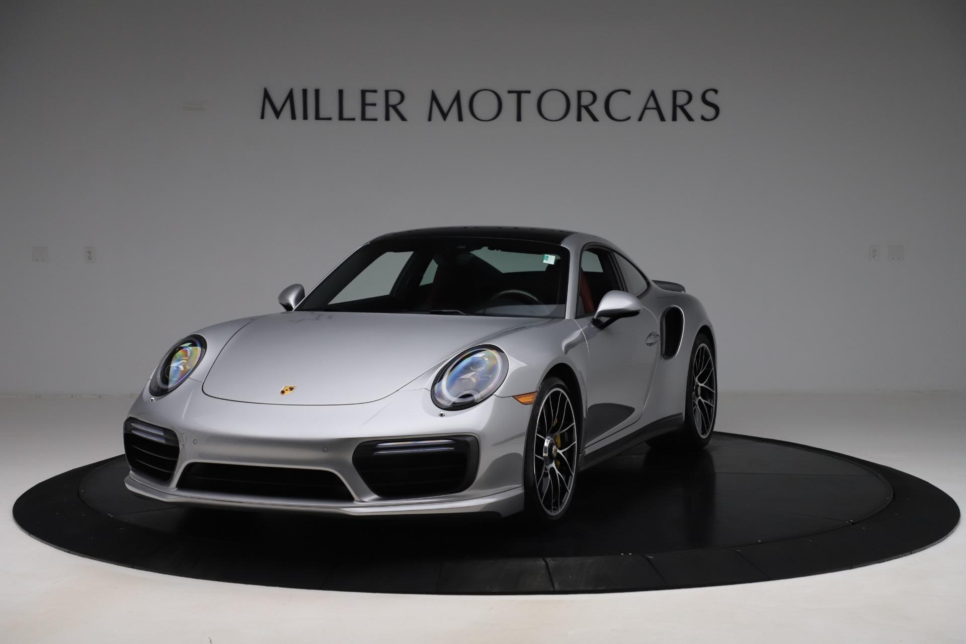 Used 2017 Porsche 911 Turbo S for sale $154,900 at Bugatti of Greenwich in Greenwich CT 06830 1