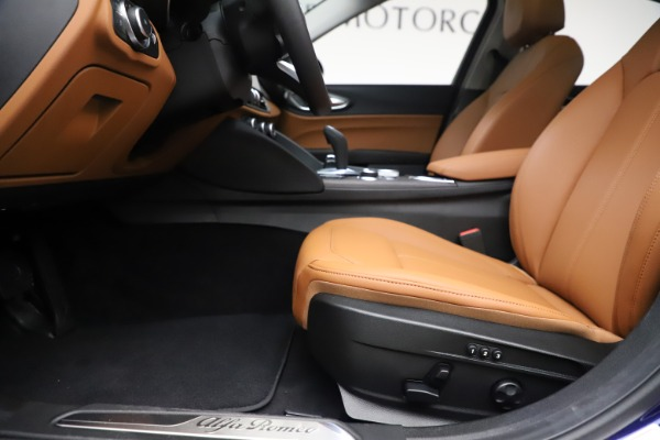 New 2020 Alfa Romeo Giulia Ti Q4 for sale $51,145 at Bugatti of Greenwich in Greenwich CT 06830 14