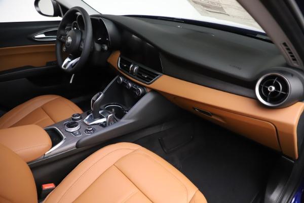 New 2020 Alfa Romeo Giulia Ti Q4 for sale $51,145 at Bugatti of Greenwich in Greenwich CT 06830 22