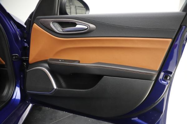 New 2020 Alfa Romeo Giulia Ti Q4 for sale $51,145 at Bugatti of Greenwich in Greenwich CT 06830 25
