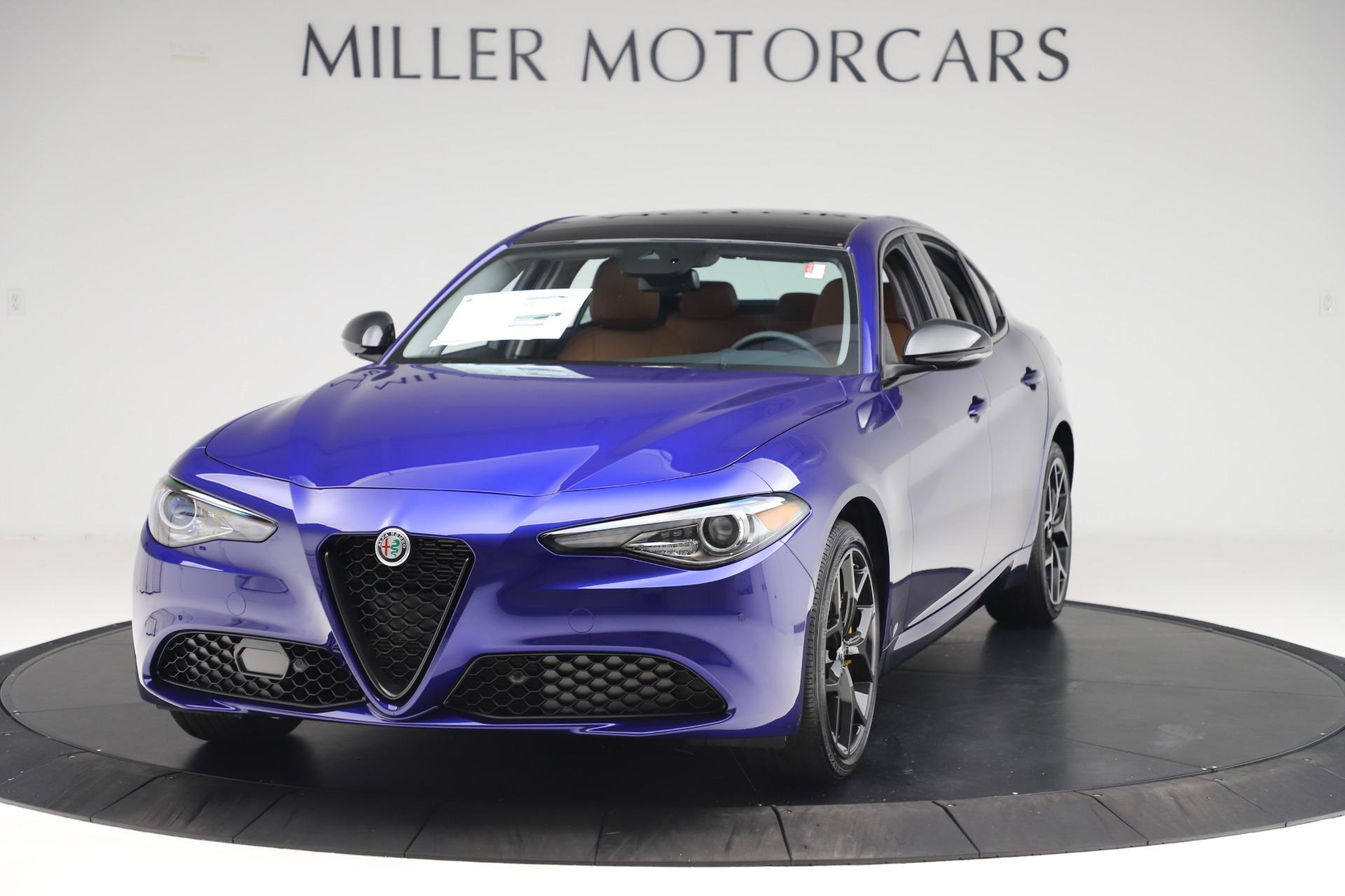 New 2020 Alfa Romeo Giulia Ti Q4 for sale $51,145 at Bugatti of Greenwich in Greenwich CT 06830 1