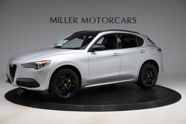 New 2020 Alfa Romeo Stelvio Ti Sport Q4 for sale $55,345 at Bugatti of Greenwich in Greenwich CT 06830 2