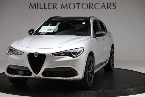 New 2020 Alfa Romeo Stelvio Ti Sport Q4 for sale $55,345 at Bugatti of Greenwich in Greenwich CT 06830 1
