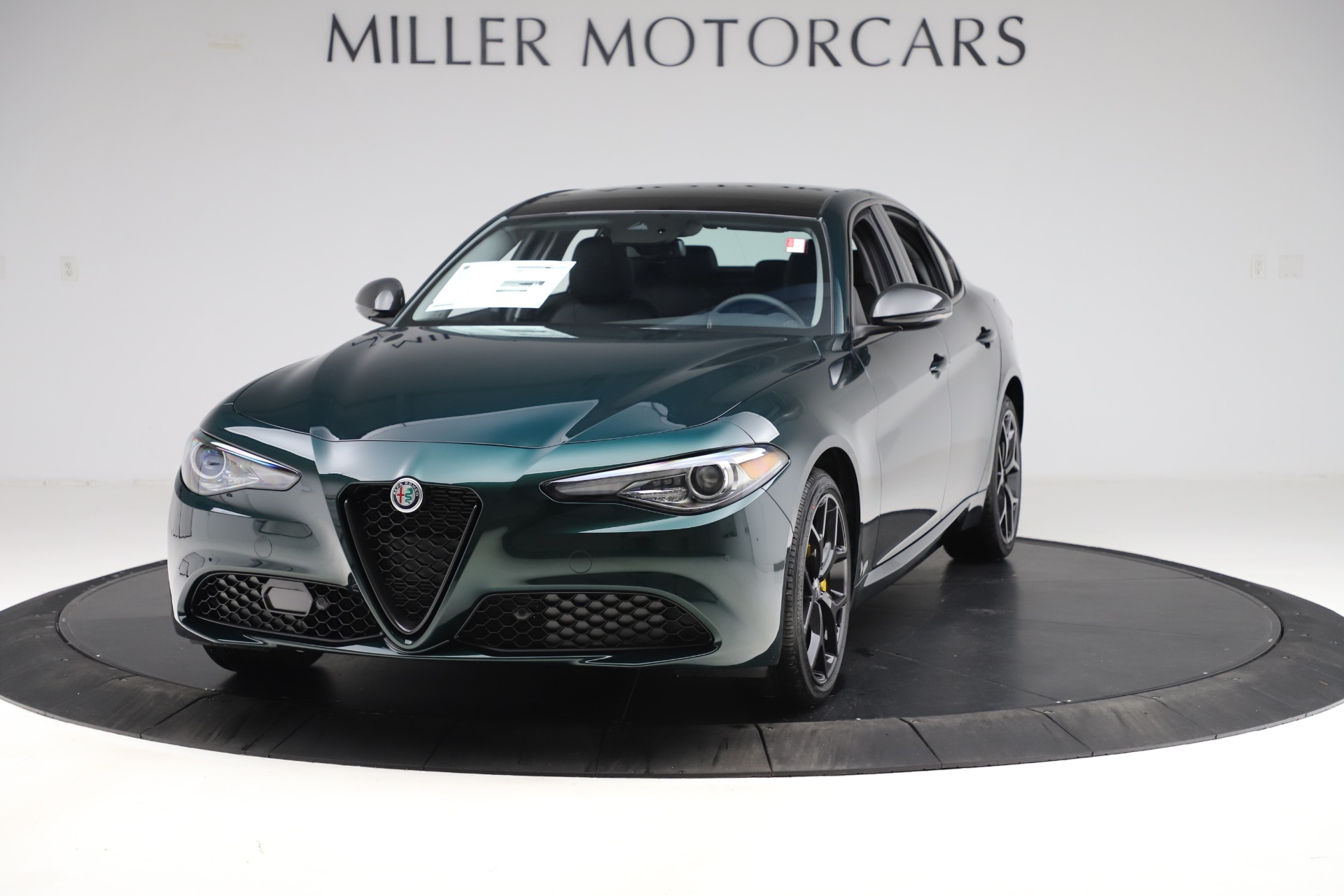 New 2020 Alfa Romeo Giulia Ti Q4 for sale $48,545 at Bugatti of Greenwich in Greenwich CT 06830 1