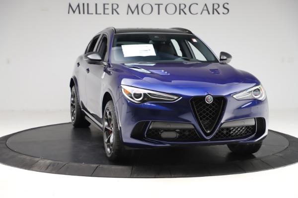 New 2020 Alfa Romeo Stelvio Quadrifoglio for sale $88,390 at Bugatti of Greenwich in Greenwich CT 06830 11