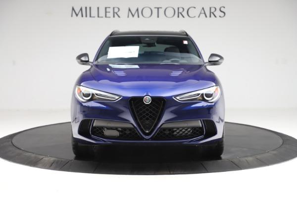 New 2020 Alfa Romeo Stelvio Quadrifoglio for sale $88,390 at Bugatti of Greenwich in Greenwich CT 06830 12