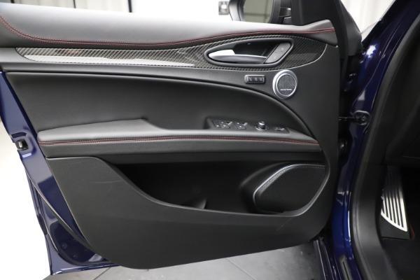 New 2020 Alfa Romeo Stelvio Quadrifoglio for sale $88,390 at Bugatti of Greenwich in Greenwich CT 06830 17