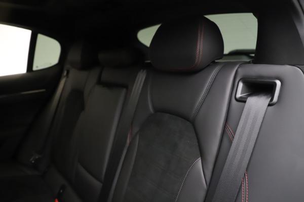 New 2020 Alfa Romeo Stelvio Quadrifoglio for sale $88,390 at Bugatti of Greenwich in Greenwich CT 06830 18