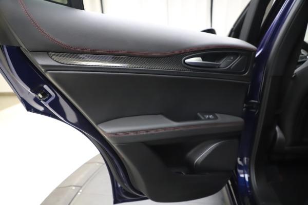 New 2020 Alfa Romeo Stelvio Quadrifoglio for sale $88,390 at Bugatti of Greenwich in Greenwich CT 06830 21