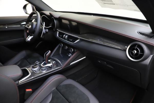 New 2020 Alfa Romeo Stelvio Quadrifoglio for sale $88,390 at Bugatti of Greenwich in Greenwich CT 06830 22