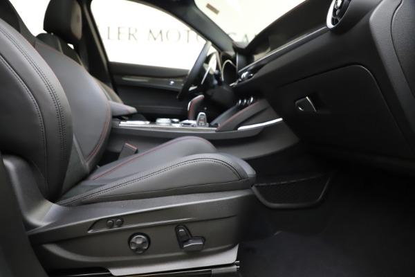 New 2020 Alfa Romeo Stelvio Quadrifoglio for sale $88,390 at Bugatti of Greenwich in Greenwich CT 06830 23