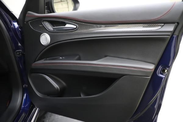 New 2020 Alfa Romeo Stelvio Quadrifoglio for sale $88,390 at Bugatti of Greenwich in Greenwich CT 06830 25