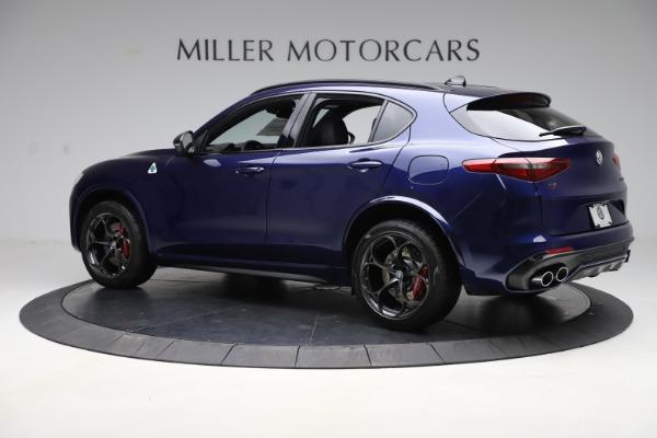 New 2020 Alfa Romeo Stelvio Quadrifoglio for sale $88,390 at Bugatti of Greenwich in Greenwich CT 06830 4