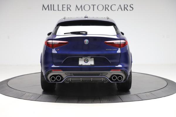 New 2020 Alfa Romeo Stelvio Quadrifoglio for sale $88,390 at Bugatti of Greenwich in Greenwich CT 06830 6
