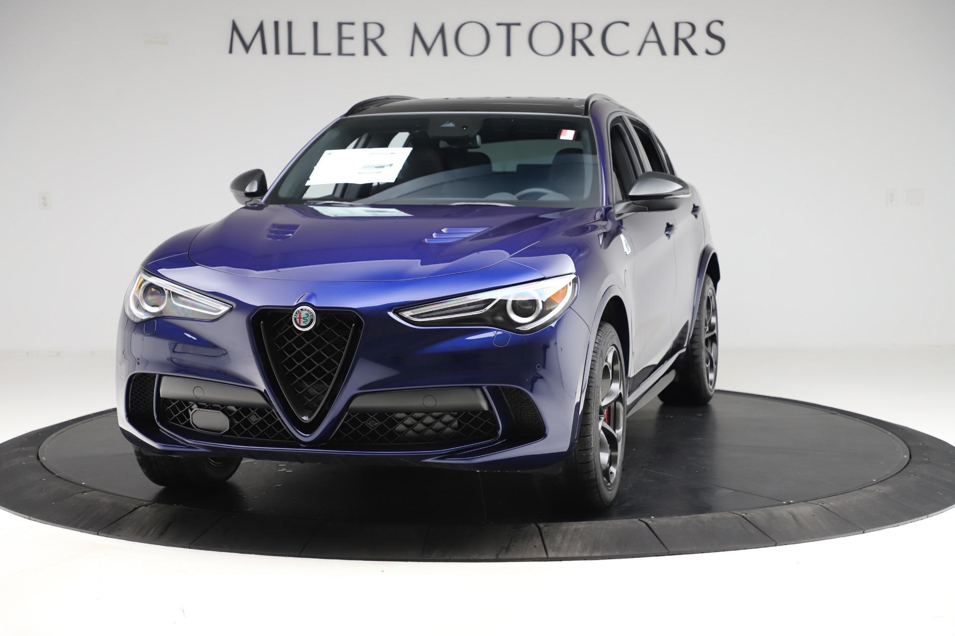 New 2020 Alfa Romeo Stelvio Quadrifoglio for sale $88,390 at Bugatti of Greenwich in Greenwich CT 06830 1