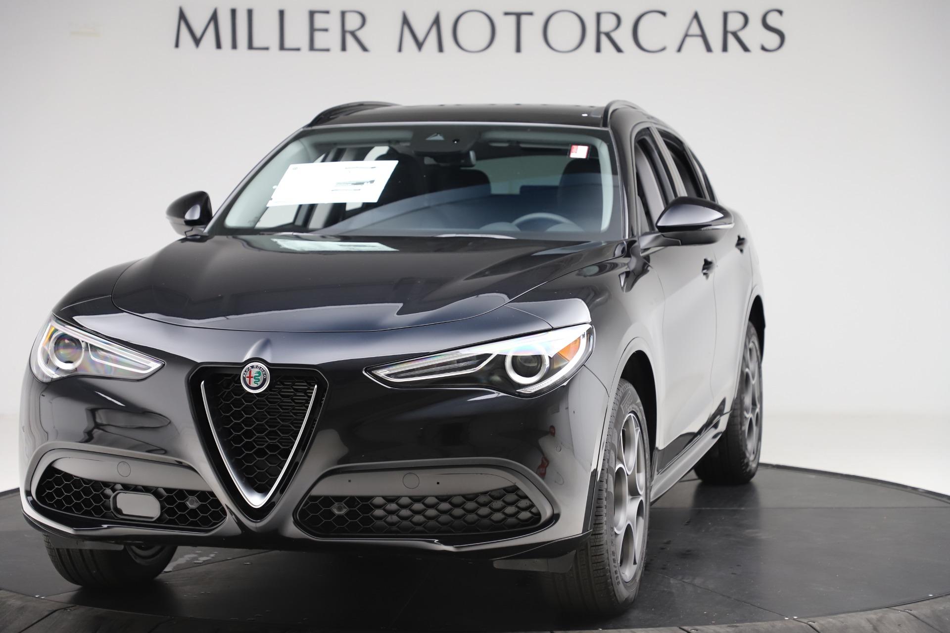 New 2020 Alfa Romeo Stelvio Sport Q4 for sale $49,695 at Bugatti of Greenwich in Greenwich CT 06830 1