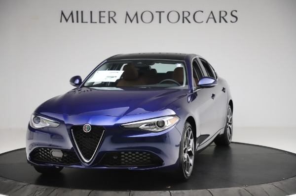 New 2020 Alfa Romeo Giulia Ti Q4 for sale $51,145 at Bugatti of Greenwich in Greenwich CT 06830 1