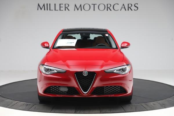 New 2020 Alfa Romeo Giulia Q4 for sale $46,395 at Bugatti of Greenwich in Greenwich CT 06830 12