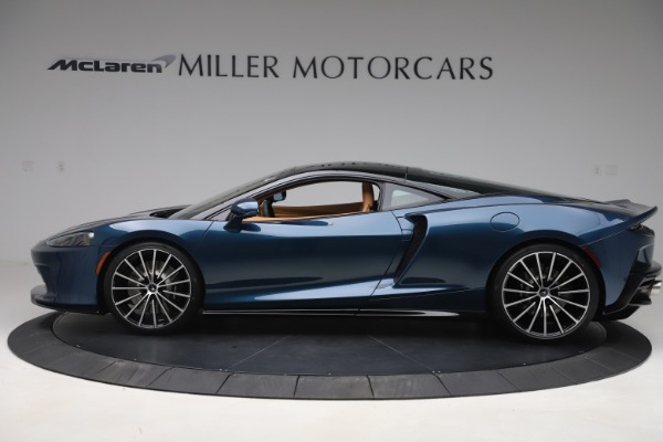 Used 2020 McLaren GT Luxe for sale Call for price at Bugatti of Greenwich in Greenwich CT 06830 3