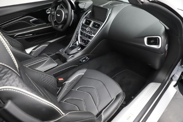 New 2020 Aston Martin DBS Superleggera Volante Convertible for sale $353,931 at Bugatti of Greenwich in Greenwich CT 06830 17