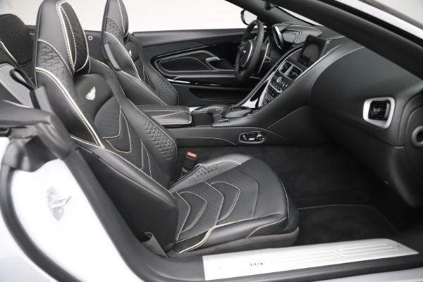 New 2020 Aston Martin DBS Superleggera Volante Convertible for sale $353,931 at Bugatti of Greenwich in Greenwich CT 06830 18