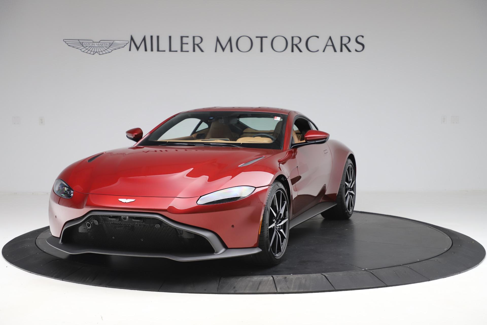 New 2020 Aston Martin Vantage Coupe for sale $185,991 at Bugatti of Greenwich in Greenwich CT 06830 1