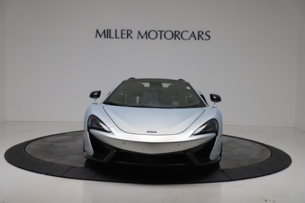 New 2020 McLaren 570S Spider Convertible for sale $256,990 at Bugatti of Greenwich in Greenwich CT 06830 11
