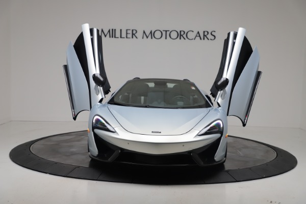 New 2020 McLaren 570S Spider Convertible for sale $256,990 at Bugatti of Greenwich in Greenwich CT 06830 12
