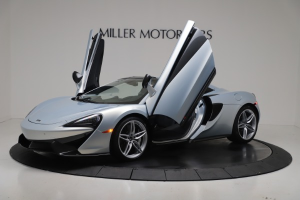 New 2020 McLaren 570S Spider Convertible for sale $256,990 at Bugatti of Greenwich in Greenwich CT 06830 13