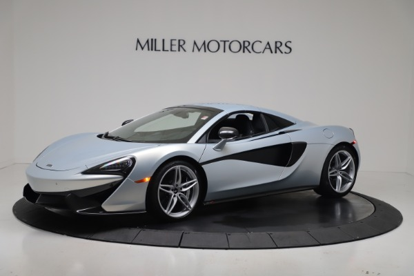 New 2020 McLaren 570S Spider Convertible for sale $256,990 at Bugatti of Greenwich in Greenwich CT 06830 14