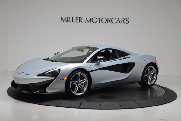 New 2020 McLaren 570S Spider Convertible for sale $256,990 at Bugatti of Greenwich in Greenwich CT 06830 15