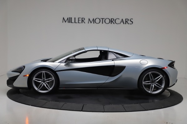 New 2020 McLaren 570S Spider Convertible for sale $256,990 at Bugatti of Greenwich in Greenwich CT 06830 16