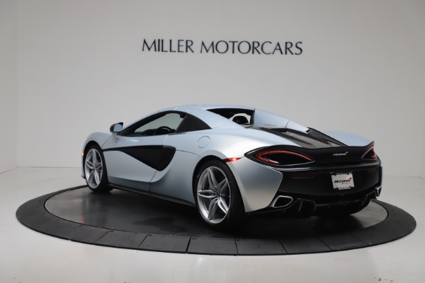 New 2020 McLaren 570S Spider Convertible for sale $256,990 at Bugatti of Greenwich in Greenwich CT 06830 17