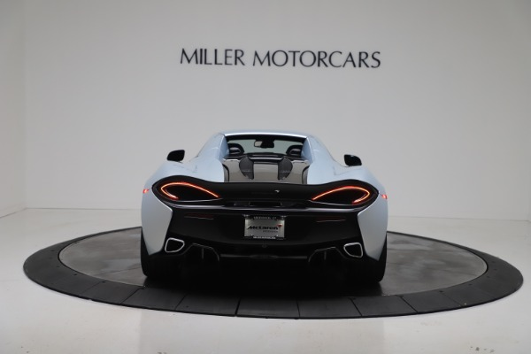 New 2020 McLaren 570S Spider Convertible for sale $256,990 at Bugatti of Greenwich in Greenwich CT 06830 18