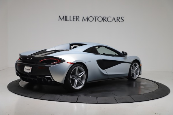 New 2020 McLaren 570S Spider Convertible for sale $256,990 at Bugatti of Greenwich in Greenwich CT 06830 19