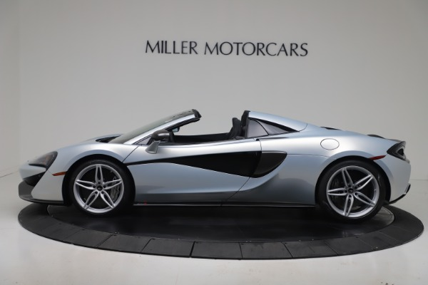 New 2020 McLaren 570S Spider Convertible for sale $256,990 at Bugatti of Greenwich in Greenwich CT 06830 2