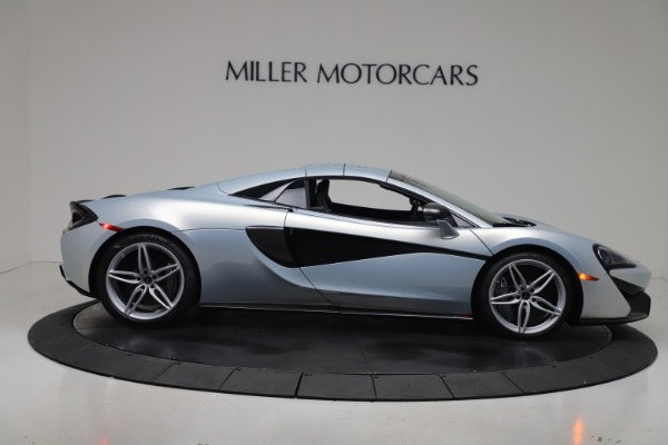 New 2020 McLaren 570S Spider Convertible for sale $256,990 at Bugatti of Greenwich in Greenwich CT 06830 20